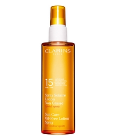 Clarins – Spray Solaire Lotion Non Grasse Protection Moyenne SPF 15