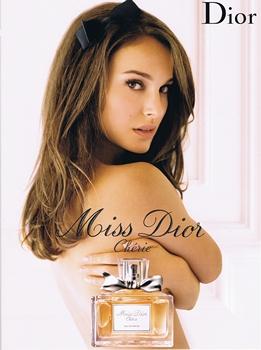 Miss Dior Chérie et Natalie Portman