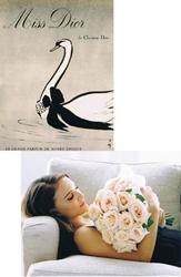 Après la pub Miss Dior en 1947 voici Miss Dior Chérie en 2011