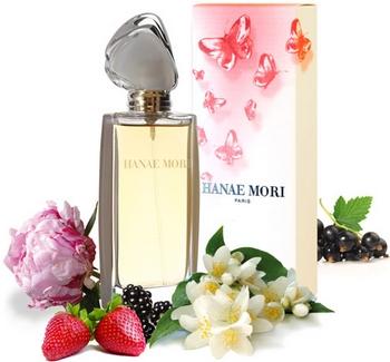Hanae Mori - Papillon Extrait de Parfum - Pub