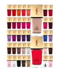 YSL - La Laque Couture - Teintes