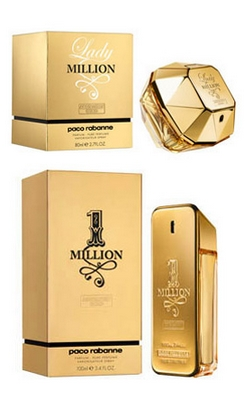 paco rabanne lady million absolutely gold prime beaut. Black Bedroom Furniture Sets. Home Design Ideas