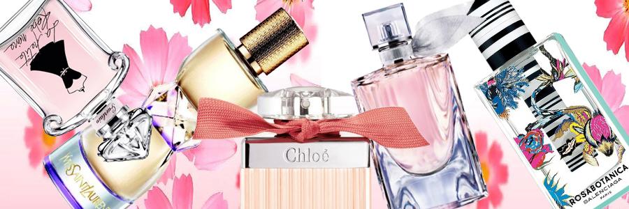 Les Parfums Féminins Printemps 2014
