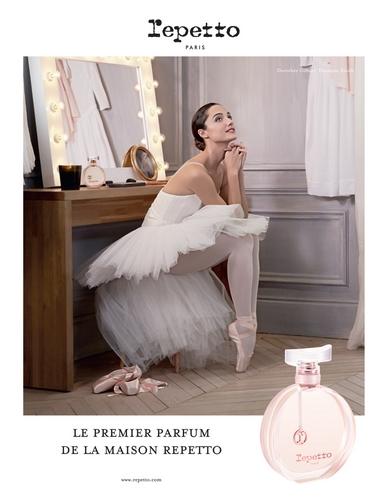 Repetto nous offre le parfum d'une danseuse étoile