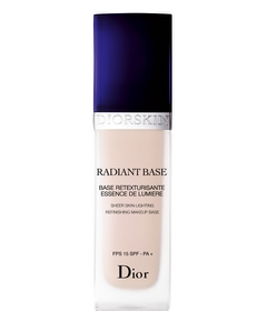 Christian Dior – Diorskin Radiant Base Retexturisante de Lumière FPS 15